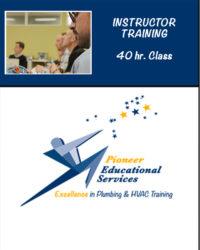 Instructor Training 40hr class