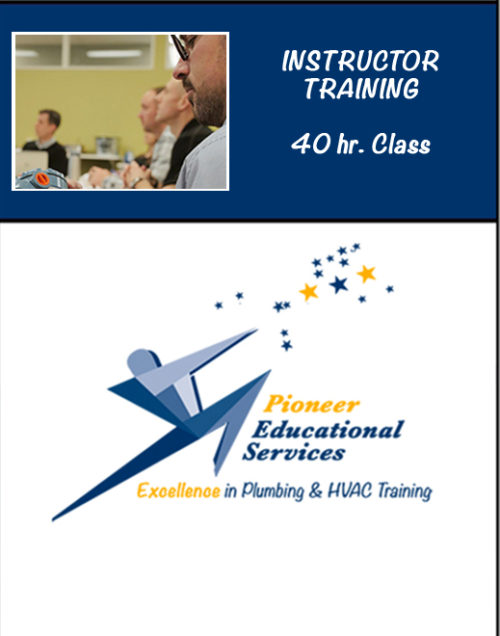 Instructor Training 40hr class